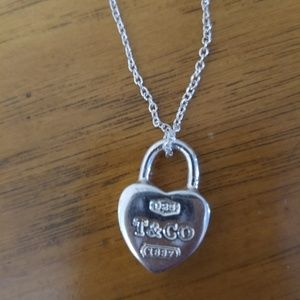 Tiffany and Company Heart Necklace